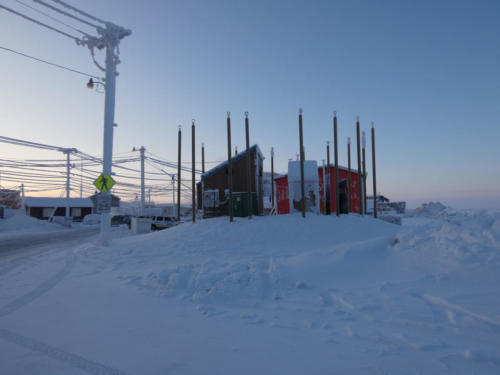 Thermosiphon in Utqiagvik. 2/12/2020.